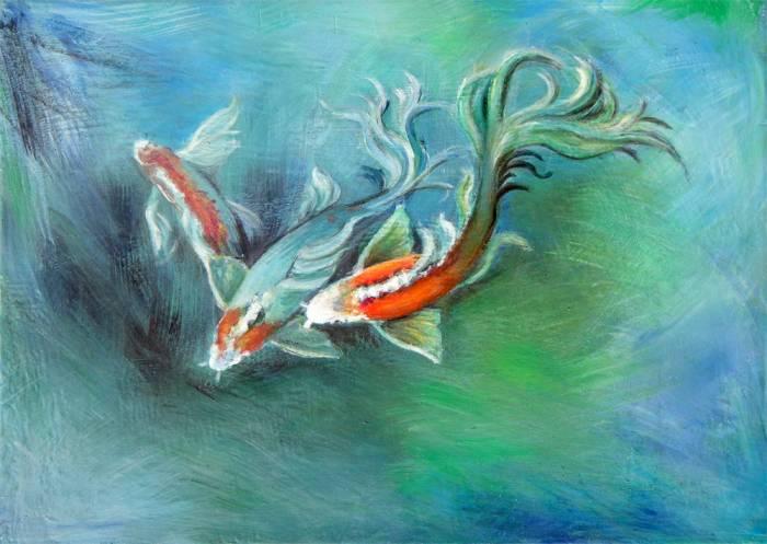 Polvo de coraz n para peces en cautiverio sombra del aire for Cria de peces en cautiverio