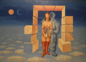11-La forma-Sueño de astronauta-Mario Carreno
